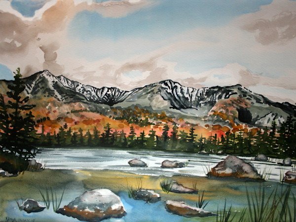 Mount Katahdin Maine Art or Sale