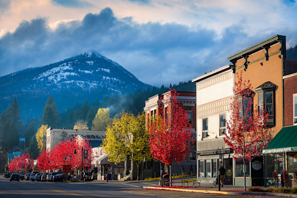 Rossland Main Street Fall 2016