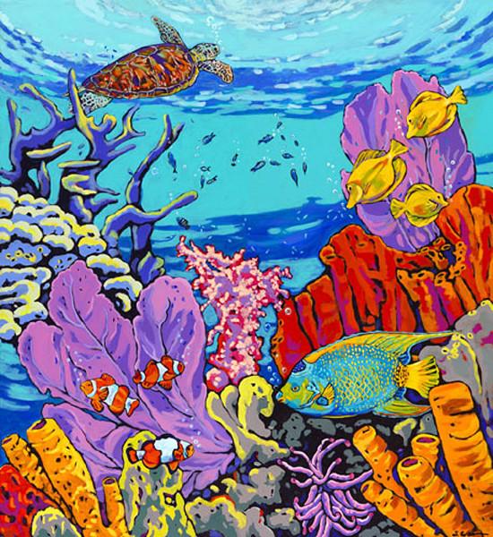 Coral Reef 8x10 Paper Prints