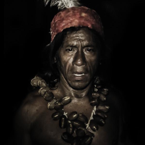 Waorani Shaman - Photography by Varial