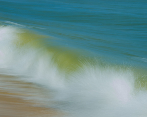 Waves Limited Edition Signed Fine Art Nature Photograph by Melissa Fague