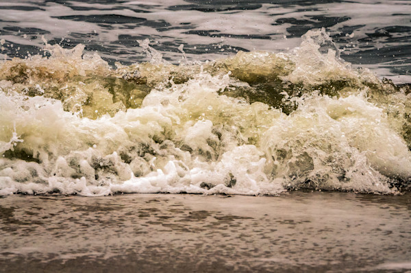 Crashing Ashore Limited Edition Signed Fine Art Nature Photograph by Melissa Fague