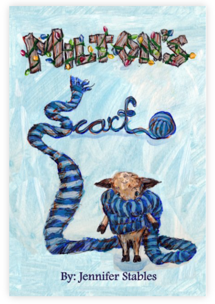 "Book: ""Milton's Scarf"" by jennydaledesigns"