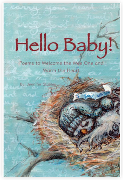 "Book: ""Hello Baby"" by jennydaledesigns"