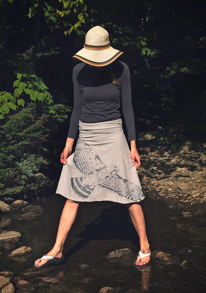 Silk Screened Jersey Skirts for Sale