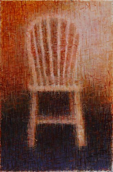 Listen X oil on canvas