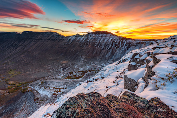 Steens Summit Sunrise II (161587LND8) Photograph for Sale as Fine Art Print