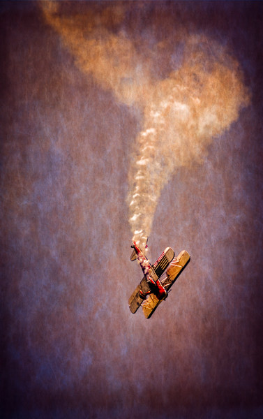 Aerobatic, Air Show, Vintage Aircraft Art Print on metal, canvas or paper, fleblanc