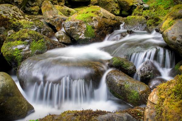 Bunch Creek Falls, Washington, USA