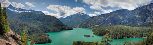 Diablo Lake, Washington, USA