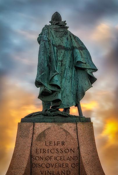 Leif Ericsson, Reykjavik, Iceland