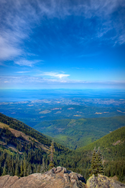 The View From Deer Park, Washington, USA