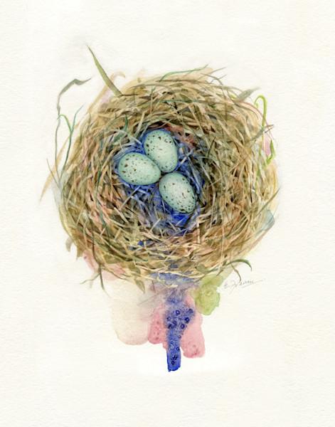 John Miz Nest III by Ernie Francis | SavvyArt Market art print