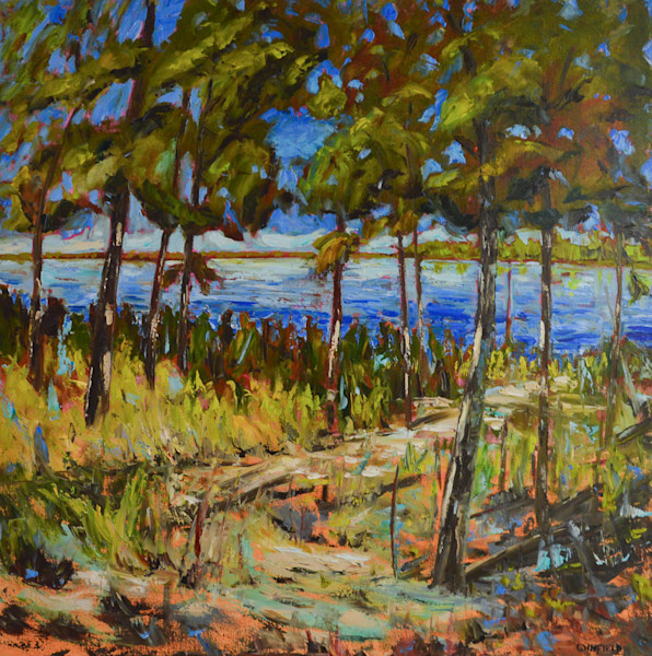 To the Beach by Darlene Winfield | SavvyArt Market original painting