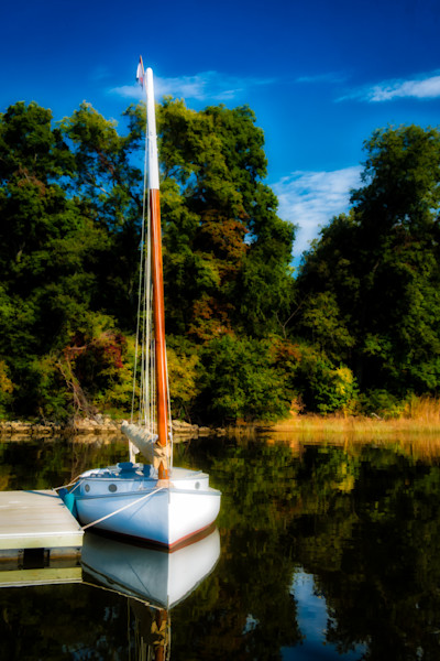 Mount Harmon Plantation Sailboat Fine Art Photograph | JustBob Images