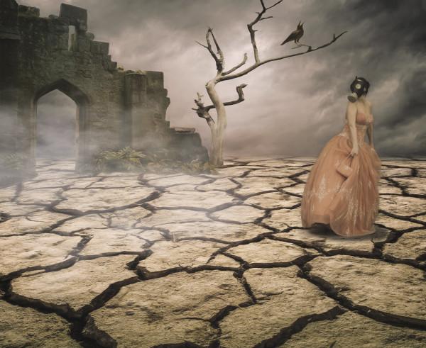 """Bad Dream"", Surreal Fine Art Print by Rebecca Benezue"
