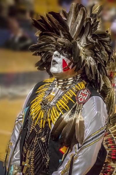 Traditional Tribal Regalia Western Decor|Wall Decor fleblanc