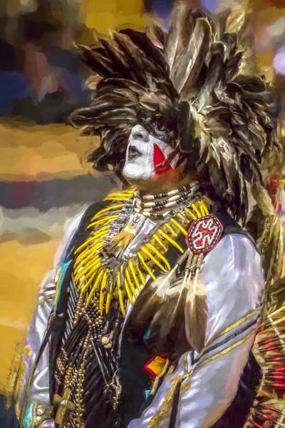 American Indian Traditional Tribal Regalia|Wall Decor fleblanc