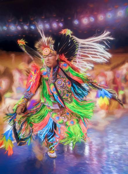 Pow Wow Indian Regalia Southwestern|Wall Decor fleblanc