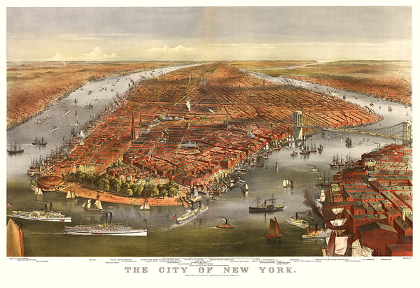 The City of New York, 1870