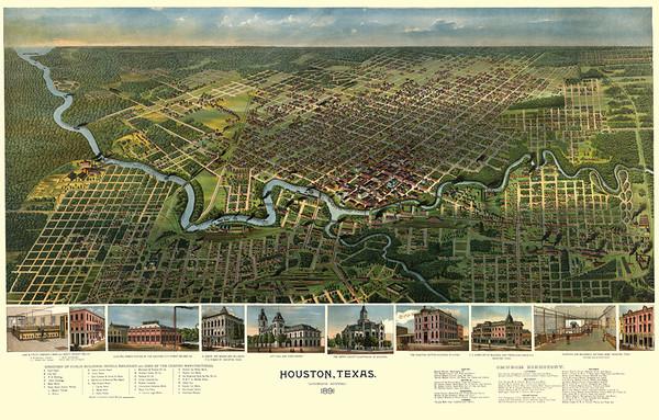 Houston Texas, 1891