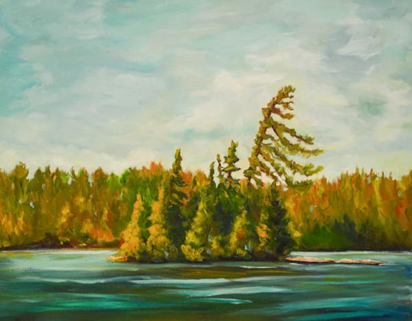 Pine Island by Darlene Winfield | SavvyArt Market original painting