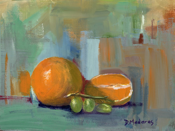 Oranges and Grapes