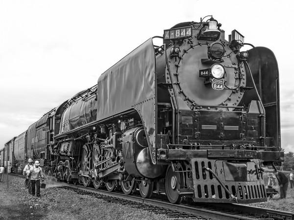 Locomotive Union Pacific UP 844 Train|Wall Decor fleblanc