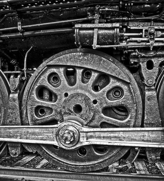 Steam Train Union Pacific|UP 844|Wall Decor fleblanc