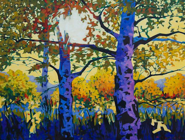 Shop for fine art prints like Aspen Light from original painting by Matt McLeod at Matt McLeod Fine Art. Gallery.
