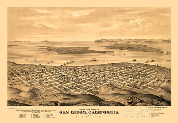 San Diego, CA 1876