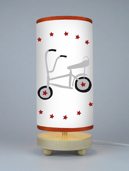 Pop Art Vintage Schwinn Bicycle Retro Lampshade