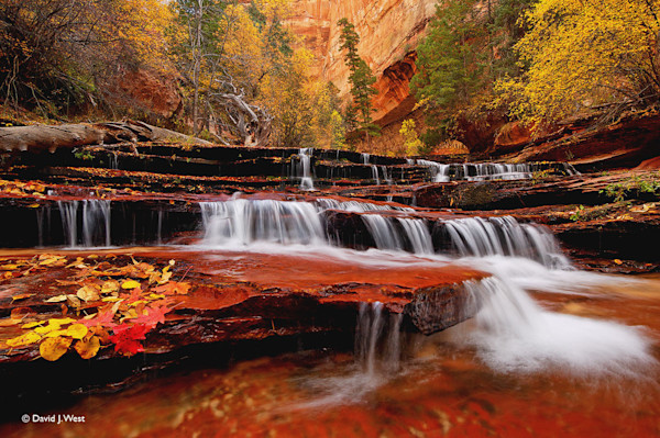 Cascade Falls in Autumn