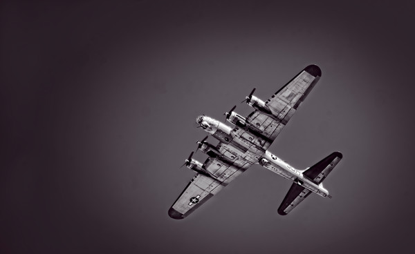 B-17 Flying Fortress Overhead Decor|Wall Decor fleblanc