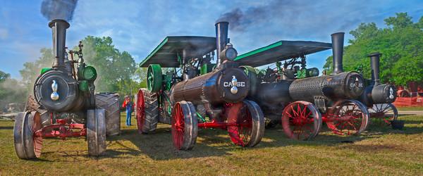 Case Steam Antique Tractors Pano Decor|Wall Decor fleblanc