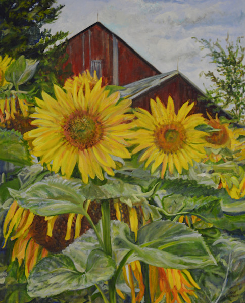 Sunshine Rules by Cathy Groulx | SavvyArt Market original oil painting