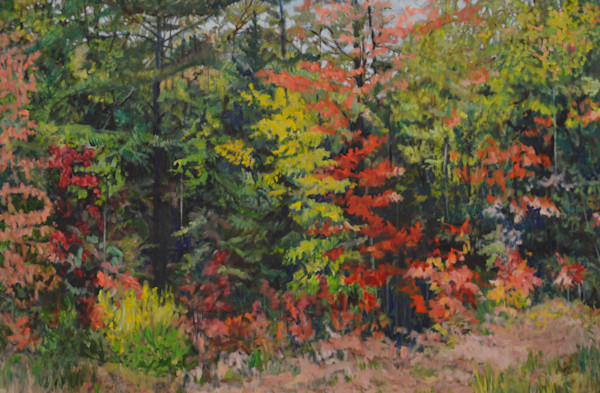 Autumn Jewels by Cathy Groulx | SavvyArt Market original oil painting