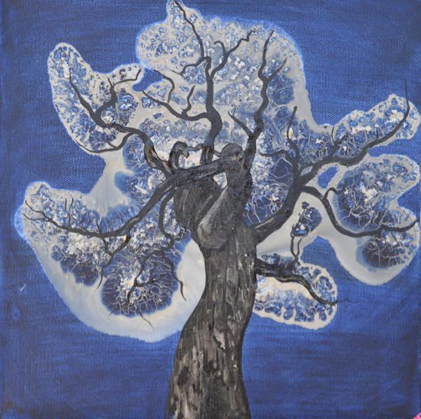 Moon Tree by Briar Emond | SavvyArt Market original abstract painting
