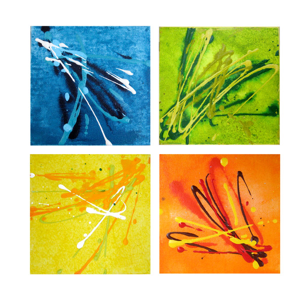 Prints of  the Four Seasons Square by Christine Nye