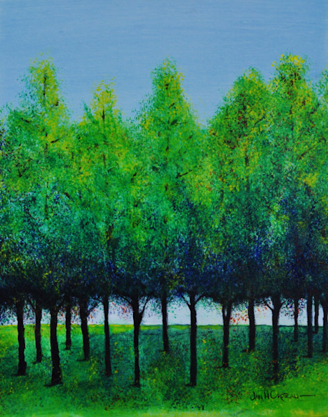 Family of Trees series of paintings for sale | Jan H Croteau Art