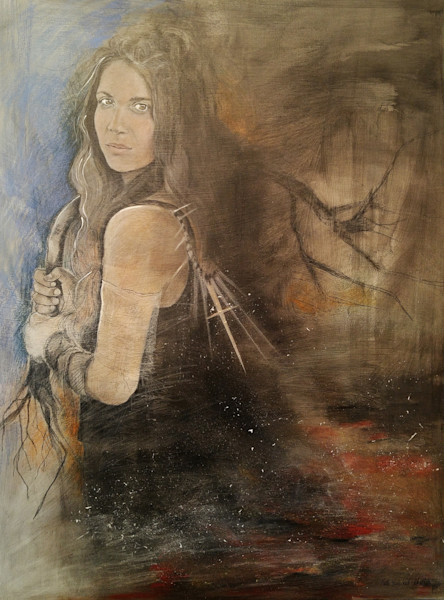 """Out Of The Ashes"" by Patti Hricinak-Sheets 