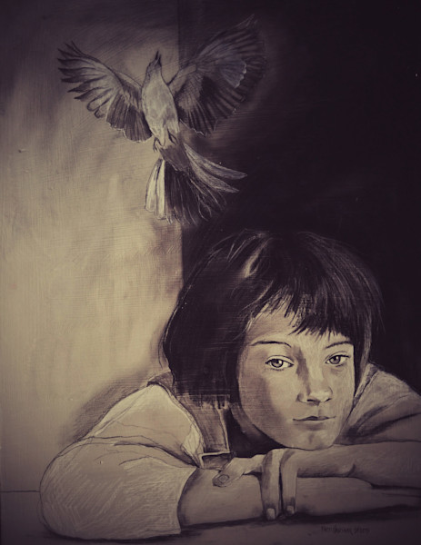 """'Scout"""" by Patti Hricinak-Sheets 