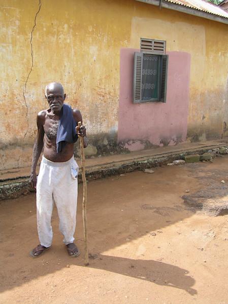 """Old Man in Ghana--""""What Ya Doin?"""""""