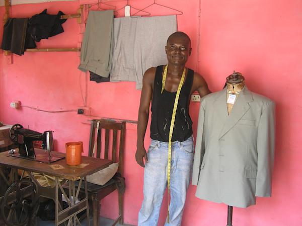 Tailor in Ghana