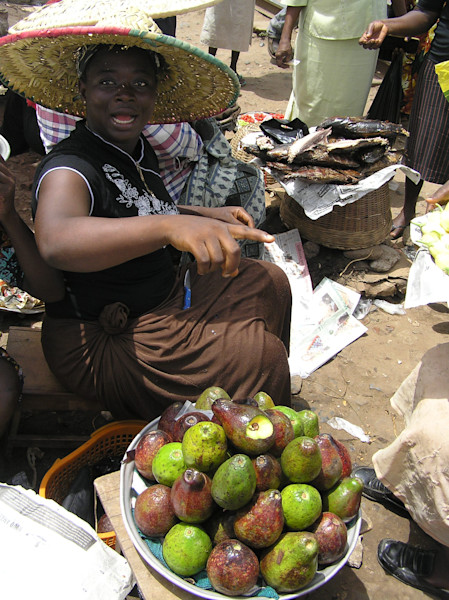 Street Vendor Upset