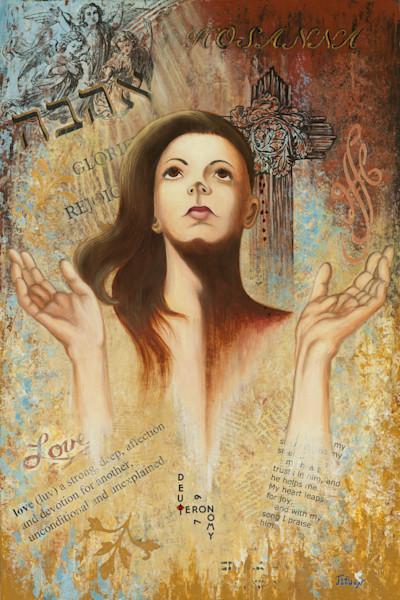 """Worship Is Love Responding To Love"" by Judi Jordan | Prophetics Gallery"