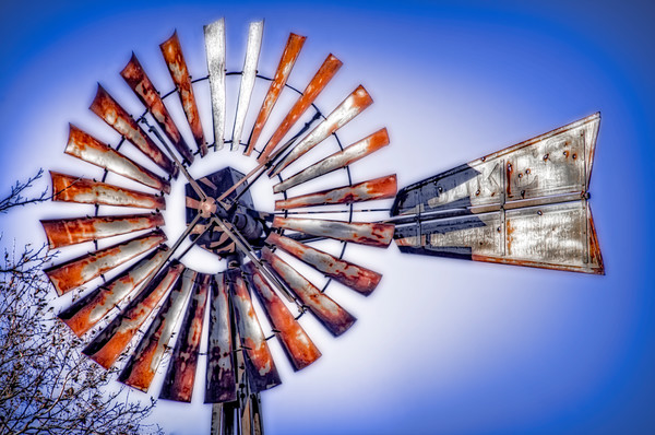 Windmill Farm Ranch Rusty Antique|Wall Decor fleblanc