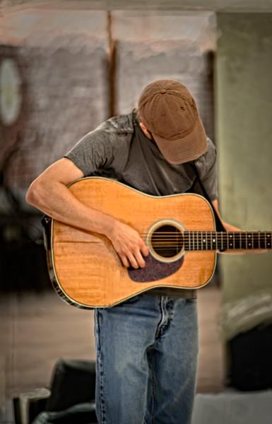 Street Performer Music Guitar Song Decor|Wall Decor fleblanc