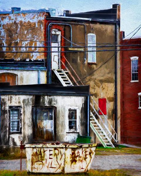Street Gritty City Abstract Design Decor|Wall Decor fleblanc