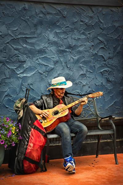 Street Music Musician Guitar Travel Decor|Wall Decor fleblanc